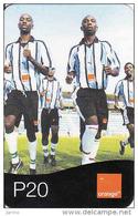 Botswana, Orange, Football, P20 - Botswana