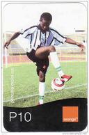 Botswana, Orange, Football, P10 - Botswana