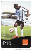 Botswana, Orange Easy Recharge Card, Football - Botswana