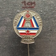 Badge (Pin) ZN006335 - Military (Army) Insignia Border Patrol Carina Yugoslavia Croatia Platak 1987 - Army