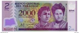 PARAGUAY 2000 GUARANIES 2008 Pick 228a Unc - Paraguay
