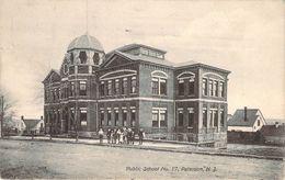 CPA Etats-Unis Paterson Public School No Paterson (animée) PO 1697 - Paterson