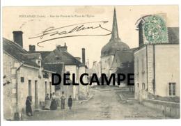 """POULAINES  """"rue Des Ponts""""  (36210)  895h - France"""