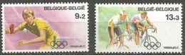Belgium - 1988 Olympics Set Of 2  MNH **    Sc B1072-3 - Belgium