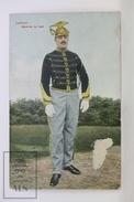 Old Postcard Belgium - Soldier - Lancier - Marechal De Logie - Fiorent - Van Hove - Berchem. Anvers - Guerre 1914-18