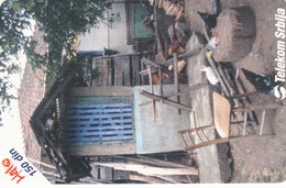 SERBIA - Courtyard In Village Vucje, 05/01, Sample No Chip And No Control Number - Yugoslavia