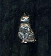 CHAT / KAT / CAT * TINNEN SPELD / PEWTER PIN * REF A15 - Dieren