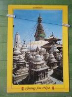 Kov 842 - NEPAL, SOYAMBUNATH STUPA - Nepal