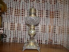 Lampe à Pétrole En Cuivre Et Laiton Avec Mèche - LYS - Lamps