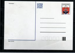 59-SLOVAKIA 1993-POSTAGE CARDS- NUMBER 001 -STATE ERB - Postal Stationery