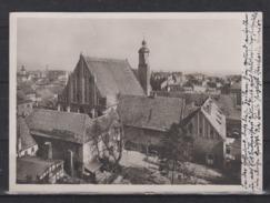 """Dt.Reich 1935 Brandenburg(Havel) Fotokarte """" Paulskirche Mit Dominikanerkloster"""" , Gelaufen - Brandenburg"""