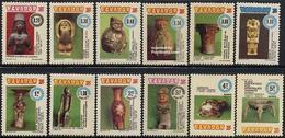 Ecuador 1976 Archeologic Museum 12v, (Mint NH), History - Archaeology - Art - Sculpture  - Museums - Museums
