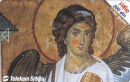 SERBIA - Fresco, Mileseva Monastery 1225, 01/02, Sample No Chip And No Control Number - Yugoslavia
