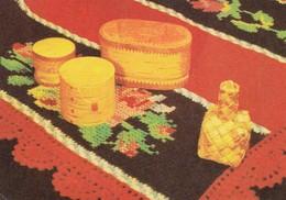 GOOD ESTONIA Postcards 1969 - National Handcraft - Estonia