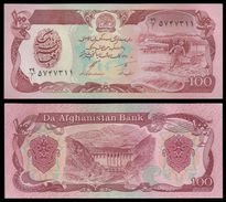 Afghanistan 100 AFGHANIS SH 1370 1991 P 58c UNC - Afghanistan