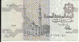 EGYPTE , 25 Piastres , N° World Paper Money : 54 - Egipto