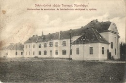 ** T3 Temesvár, Timisoara; Józsefváros, Iskolanővérek Zárdája, Mária Otthon és Szanatórium / Nunnery, Home And Sanatoriu - Postcards