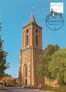 D32312 CARTE MAXIMUM CARD FD 2005 MOOI NEDERLAND - GROTE KERK MONNICKENDAM - DETAIL OP POSTZEGEL CP ORIGINAL - Netherlands