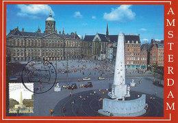 D32313 CARTE MAXIMUM CARD FD 2005 MOOI NEDERLAND - AMSTERDAM MONUMENT - DETAIL OP POSTZEGEL CP ORIGINAL - Amsterdam