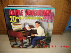 Double-album 33 Tours ANDRE VERCHUREN - 20 Ans D'accordéon - 24 Titres - Instrumental