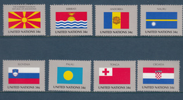 United Nation New York MNH Michel Nr 862/69 From 2001 / Catw 8.00 EUR - New York - Hoofdkwartier Van De VN