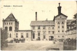 T2/T3 Radauti, Radóc, Radautz; Bierbrauerei, Verlag Moritz Gottlieb / Brewery + 'M. Kir. Budapesti 30. Honvéd Gyalogezre - Postcards