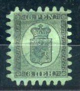 Finlande - N° Yvert 6 Type III  Oblitération Bleue , Pas D 'aminçi , Dentelure Normale ,cote 225€ - Ref T4 - 1856-1917 Amministrazione Russa