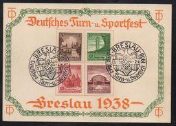 ALLEMAGNE - BRESLAU - WWII / 1938 CARTE DE PROPAGANDE (ref LE1945) - Germany