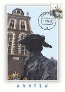 D32323 CARTE MAXIMUM CARD FD 2006 MOOI NEDERLAND - KAMPEN NIEUWE TOREN - DETAIL OP POSTZEGEL CP ORIGINAL - Kampen