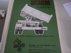 DEPLIANT BATTAGLINO RIMORCHIO - Voitures