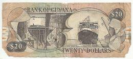 GUYANA , GUYANE , 20 $ , 20 Dollars , 1996 , N° 30 B2 - Guyana