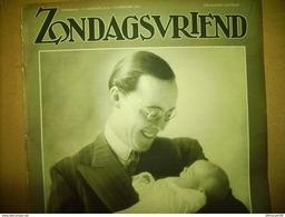"""-**Zondagsvriend -**n°6--10/2/1938- """"STEKENE-MOERBEKE-WACHTEBEKE(1,5blz)/ + - Tijdschriften"""
