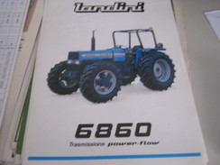 DEPLIANT LANDINI 6860 - Voitures