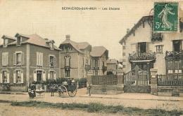 BERNIERES SUR MER LES CHALETS EDITION  MERTEL TOILEE COULEUR - Autres Communes