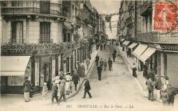 TROUVILLE RUE DE PARIS - Trouville