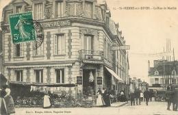 SAINT PIERRE SUR DIVES LA RUE DU MARCHE EDITION MOUGIN - France