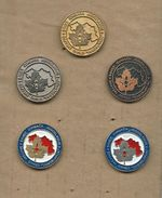Scouting Scoutisme Boy Scout.Scout Association Of Yugoslavia.full Serial.5 - Pins - Associations