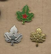 Scouting Scoutisme Boy Scout.Scout Association Of Yugoslavia.lot 3 Pins - Associations