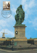 D32330 CARTE MAXIMUM CARD FD 2007 MOOI NEDERLAND - STANDBEELD DE RUYTER VLISSINGEN - DETAIL OP POSTZEGEL CP ORIGINAL - Vlissingen