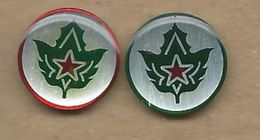 Scouting Scoutisme Boy Scout.Scout Association Of Macedonia.2 Pins - Associations