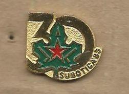 Scouting Scoutisme Boy Scout.Scout Association Of Yugoslavia.Subotica. 30 Anniversary 1985 - Associations