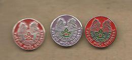 Scouting Scoutisme Boy Scout.Scout Association Of Yugoslavia.scout Review Sutjeska.3 Pins - Associations