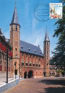 D32344 CARTE MAXIMUM CARD FD 2010 MOOI NEDERLAND - MIDDELBURG ABDIJ - DETAIL OP POSTZEGEL CP ORIGINAL - Middelburg