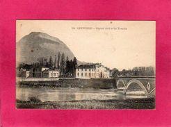 38 Isère, Grenoble, Hôpital Civil Et La Tronche, 1919, (L. P.) - Grenoble