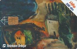 SERBIA - Coastal Landscape, Jovan Bijelić , 07/03, Sample No Control Number - Yugoslavia