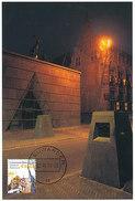 D32348 CARTE MAXIMUM CARD FD 2010 MOOI NEDERLAND - LEEUWARDEN FRIES MUSEUM - DETAIL OP POSTZEGEL CP ORIGINAL - Leeuwarden