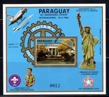 PARAGUAY - 1985 - BLOC N°413 ** (Muestra) ROTARY / SCOUTISME - Rotary, Lions Club