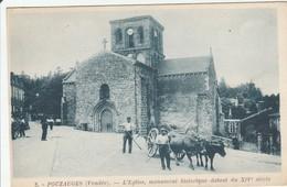 POUZAUGES  L'Eglise Du 14 Iem - Pouzauges