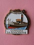 PIN'S  CONFLANS  LA PENICHIENNE    -   Bâteau, Planche, Voile   (122) - Boats