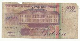 SURINAME , 100 Gulden , 1998 , N° 139 - Surinam